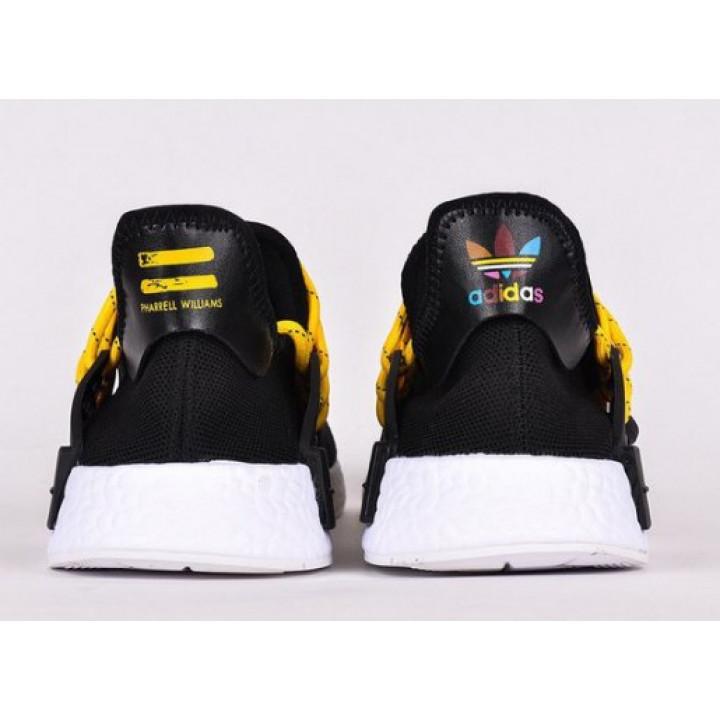 Кроссовки adidas NMD Hu Trail черные в наличии