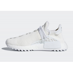 Adidas NMD Hu Trail Black Pharrell Williams White