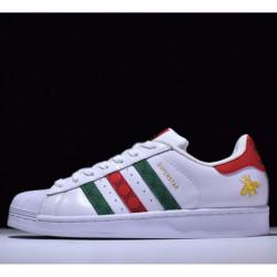 Adidas Superstar 80s x Gucci White