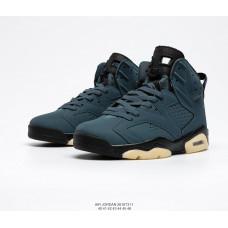 Air Jordan 6 Retro синий