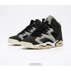 Air Jordan 6 Retro белые с черным