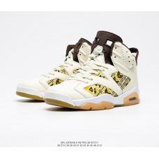 Air Jordan 6 Retro белые