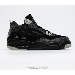 "Air Jordan 4 Retro""Royalty""AJ4 black"