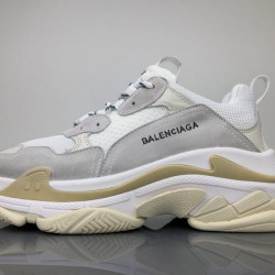 Balenciaga Triple S White Grey