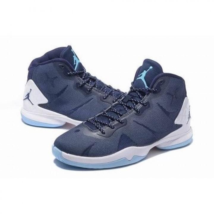 Nike Jordan SuperFly 4, баскетбольные кроссовки синий