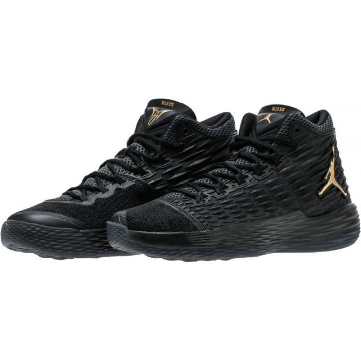 Nike Air Jordan Melo M13, баскетбольные кроссовки черный