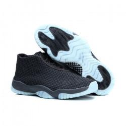 Nike Air Jordan Future черные с голубым