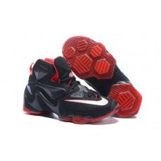 Nike LEBRON 13 черные с красным