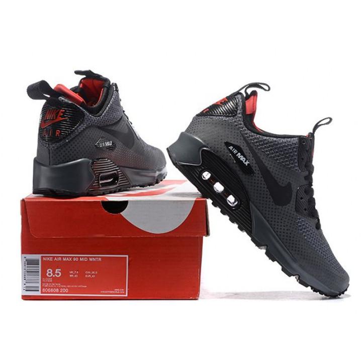 Кроссовки Nike Air Max 90 MID, в наличии серые