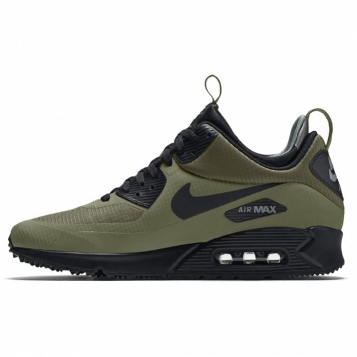 Кроссовки Nike Air Max 90 MID, в наличии зеленые