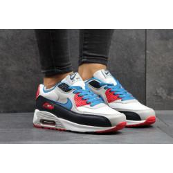 Nike Air Max 90 с серым и синим