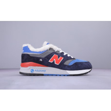 Кроссовки New Balance WL997.5HY Утепленные синие