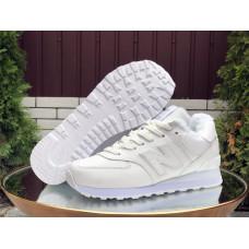 Кроссовки New Balance 574 утепленные белые