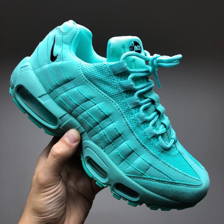 Кроссовки Nike Air Max, бірюза