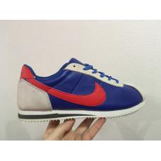 Nike Cortez синие с красным