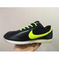 Nike Cortez синие с салатовым