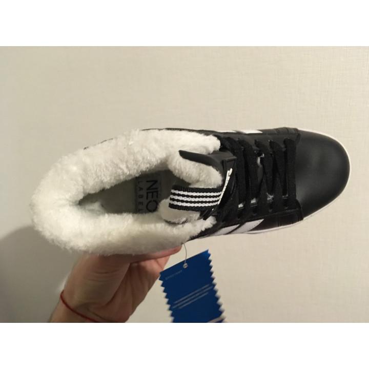 Кроссовки  Adidas Neo Bbneo, утепленные