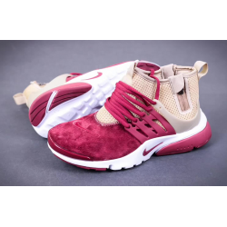Nike Presto Mid Suede red/milk весна/осень
