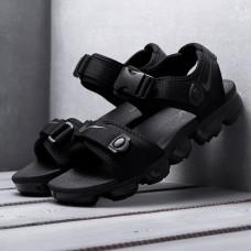 Сандалии Nike Air VaporMax полностью черные 2019