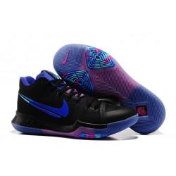 Nike Kyrie Irving 3 черные с фиолетовым