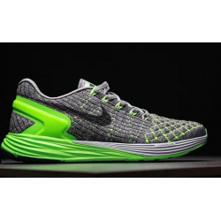 Nike LunarGlide 7 green grey