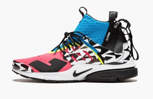 Новые цвета Acronym x Nike Air Presto Mid Cotton Candy