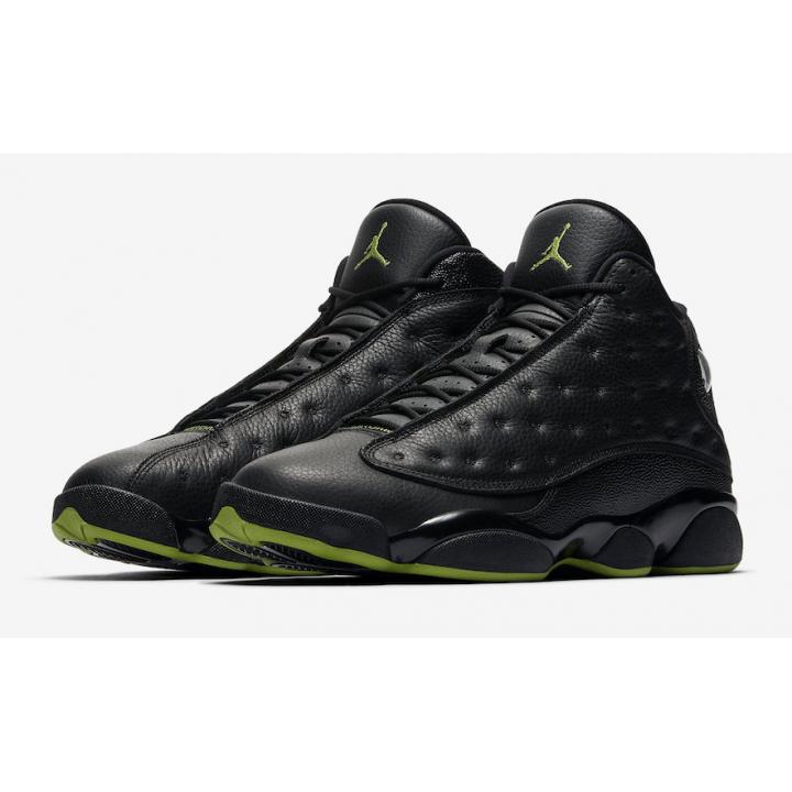 Air Jordan 13 Retro, баскетбольные кроссовки черные