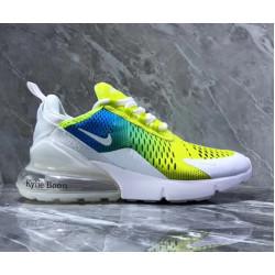 Nike Air Max 270 Kylie Boon лимон голубой