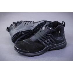 Nike Presto Mid Suede black весна/осень