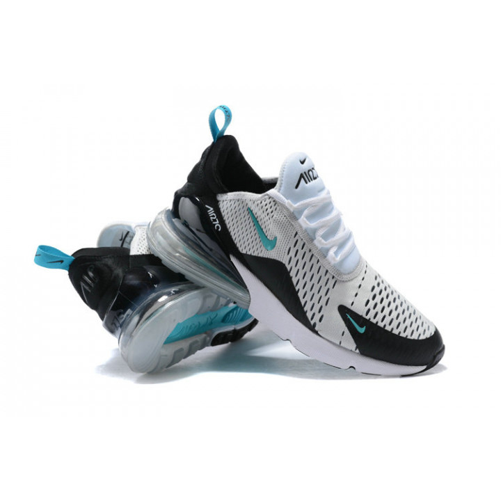 кроссовки Nike Air Max 270 черные с белым