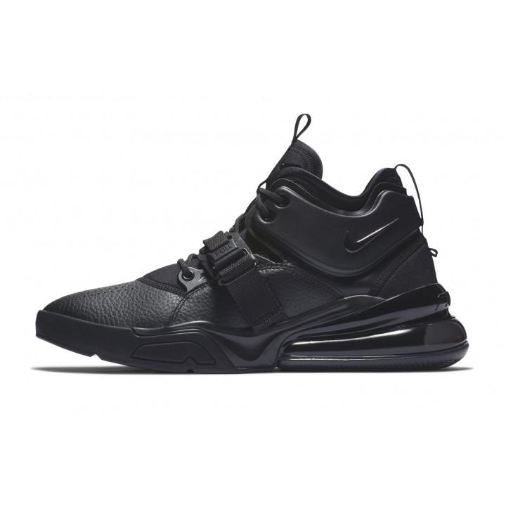 Nike Air Force 270 Высокие черные