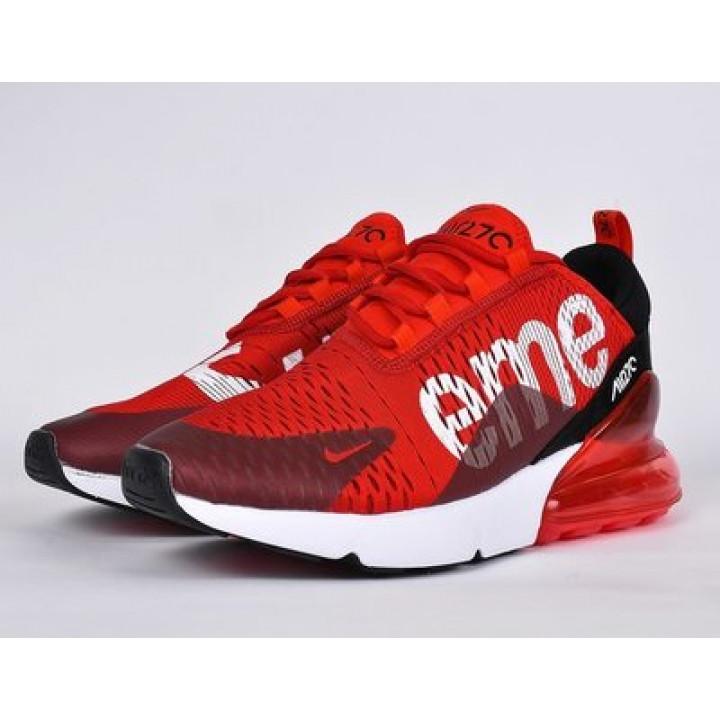 Nike Air Max 270 красные суприм