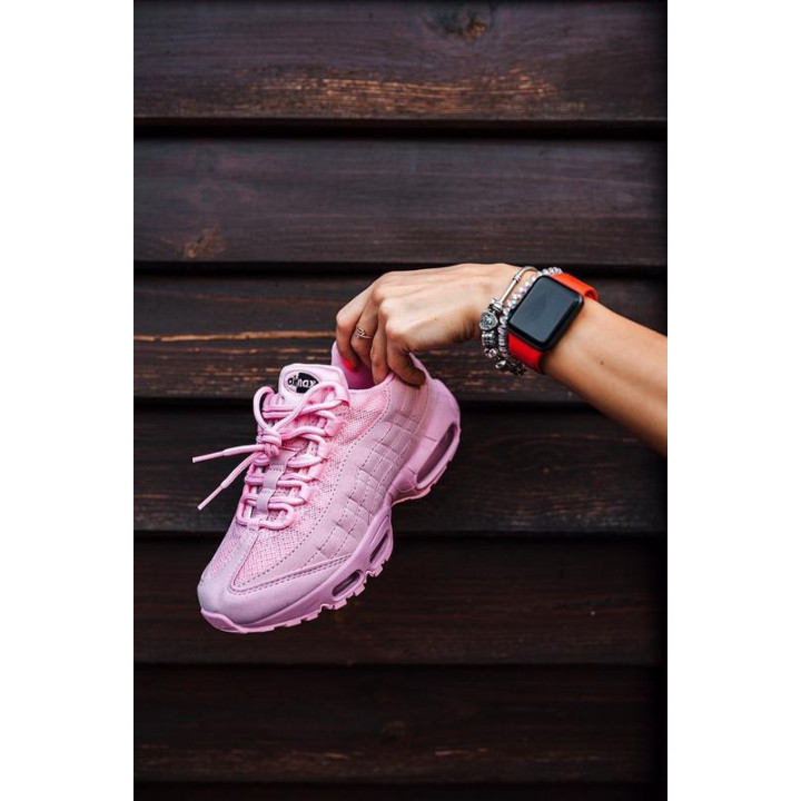 Кроссовки Nike Air Max, цвет розовые