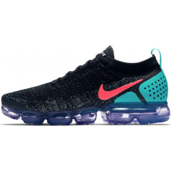 NIKE AIR VAPORMAX 2 BLACK HOT PUNCH