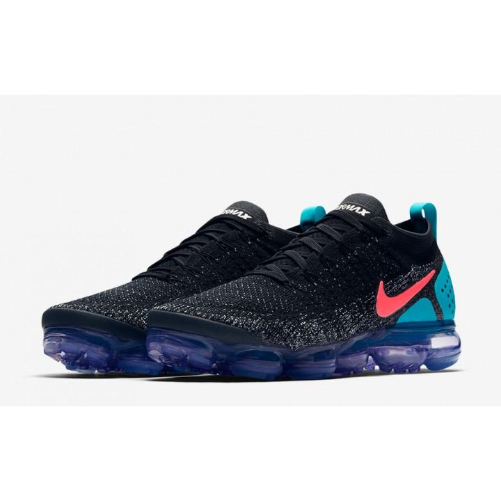 Кроссовки, Nike VaporMax 2.0 черные с бирюзой