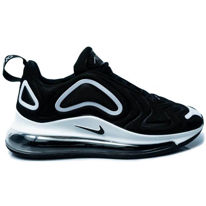 Nike Air Max 720 черные с белым