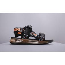 Сандалии Nike Air 720 Sandals Black Orange