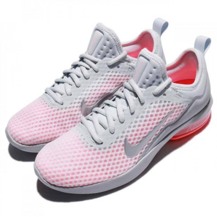 Кроссовки Nike Air Max Kantara серые с розовой пяткой