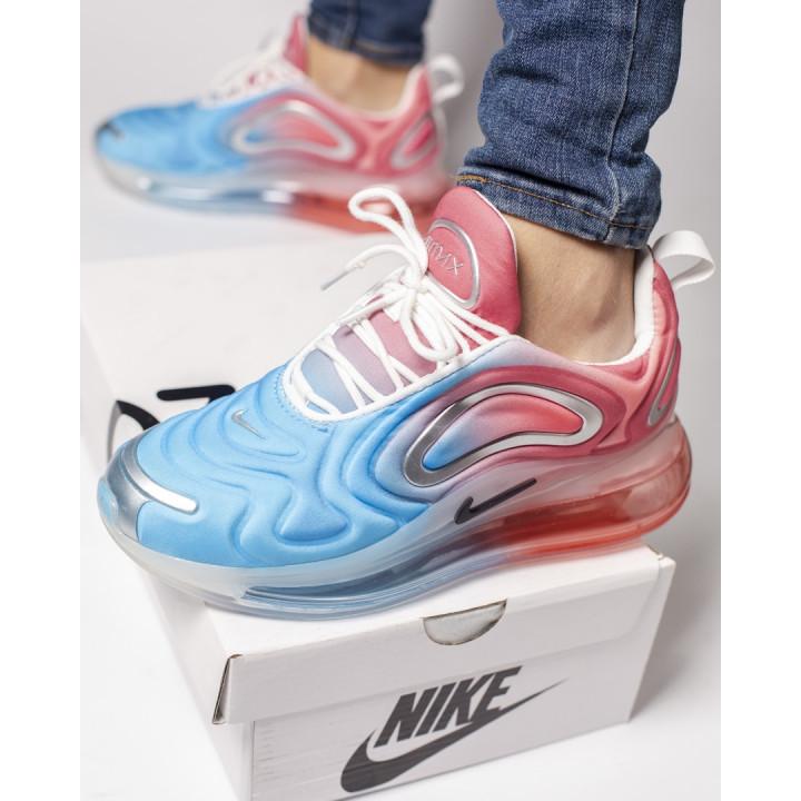 Nike Air Max 720 в наличии голубые с розовым