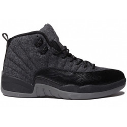 Nike air Jordan 12 retro wool grey black