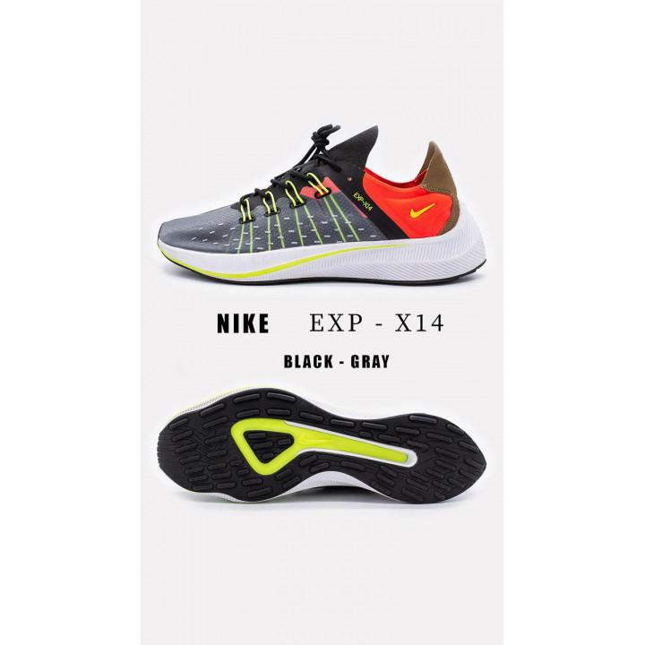NIKE Exp-X14 сірі новий колір