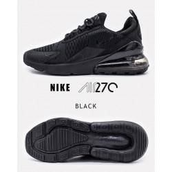 Nike Air Max 270 чорні повністю