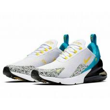 Nike Air Max 270 N7 Running Shoes White/Black/Blue/Yellow