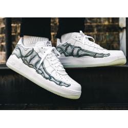 Nike Air Force 1 Low '07 QS Skeleton White
