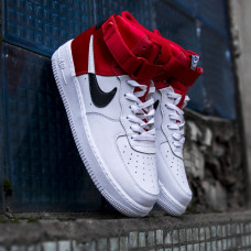 Nike Air Force High NBA Lakers Red White