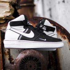 Nike Air Force High NBA Lakers Black White