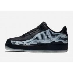 Nike Air Force 1 Low '07 QS Skeleton Black