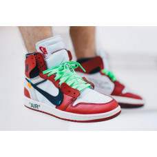 Air Jordan 1 Off White Red