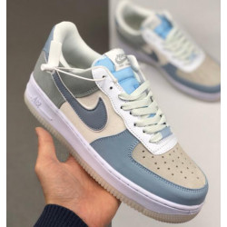 Nike Air Force 1 07 grey blue