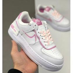 Nike Air Force 1 Shadow Swoosh White Rose